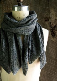 Bias Stripe Wrap | The Purl Bee