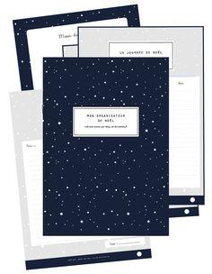 Organisateur de Noël à imprimer Planner Organisation, Journal Organization, Christmas Dishes, Christmas Deco, Xmas, Agenda Planner, Home Management Binder, Theme Noel, Bullet Journal Inspiration