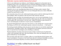 Thema afval