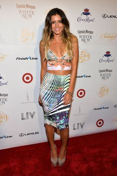 Model Anastasia Ashley attends Club SI Swimsuit at LIV Nightclub hosted by Sports Illustrated at Fontainebleau Miami on February 19, 2014 in...