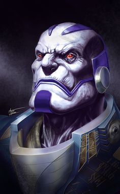 En Sabah Nur.  Fanart Portrait I did.  So fun. Apocalypse