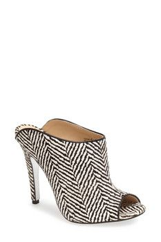 755dee147d3 Kristin Cavallari by Chinese Laundry Lucky Genuine Calf Hair Open Toe Mule  Open Toe Mules