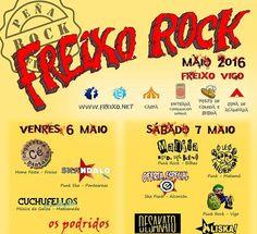 Festival Freixo Rock 2016. Ocio en Galicia | Ocio en Vigo. Agenda actividades. Cine, conciertos, espectaculos
