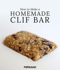 Ever wondered how to make a homemade Clif Bar? The company shares its secrets!