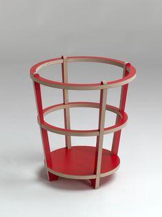 Muebles minimalistas para montar y desmontar facilmente