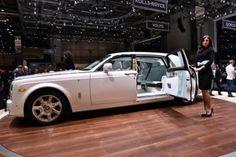 La #RollsRoyce Serenity est une version plus luxueuse de la Phantom.