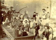 Many children were born in the workhouse and never knew their parents. Some babies were taken out in a large pram,but in some urban workhouses some babies and young children never went beyond the walls of the outside yard. Workhouse life was all they knew.