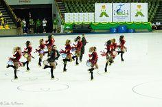"56º Mundial de Patinação Artística - Brasília 2011  56th World Championships Artistic Roller Figure Skating 2011. Small Groups Long Programme.   ""Be Italian"" - BRA   photo: João Guilherme / DF"