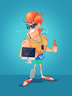 Characters and Illustrations on Behance