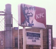 """where I come from, there's another term for """"loaded bowel""""."""