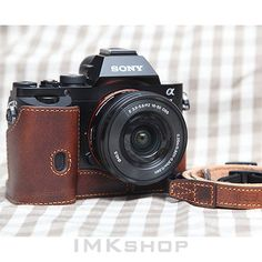 NEW CIESTA Limited Edition Vegetable Leather Case w/ Strap for SONY A7K A7R A7