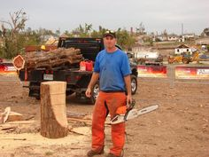 Jason at the Extreme Makeover: Home Edition build site in Joplin, MO
