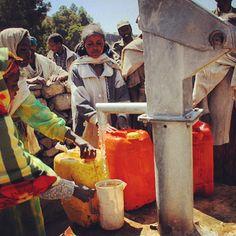 Gather round, where clean water is round
