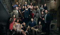 Vanity Fair inspired group shot, Annie Leibovitz, Duns Castle, Scotland