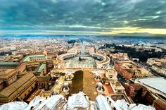 A view over the Vatican by Ahmedov Ahmed on 500px