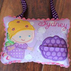 Custom Tooth Fairy Pillow