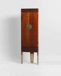 Koloman Moser (1868 – 1918) Corner Cabinet, 1900, Vienna.