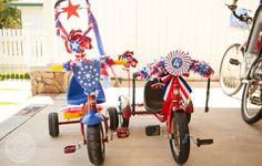 4th Of July Bicycle Decoration Pictures  Bike Decorations For 4th Of July Parades  Squidoo  Welcome To