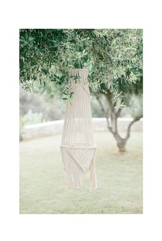 Macrame lantern/ceiling light/wall light/ sconce with natural