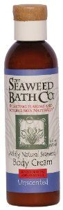 Seaweed Bath Co. - Wildly Natural Seaweed Body Cream - Unscented, 6 fl oz cream by Seaweed Bath Co.. Save 7 Off!. $11.99. Does Not Contain: Parabens, Dyes, Sulfates, Gluten. The Seaweed Bath Co. Wildly Natural Seaweed Unscented Body Cream with Argan Oiland Kukui Oil - 6 oz. (177 ml) Soothe and soften your skin with The Seaweed Bath Company's Wildly Natural Seaweed Unscented Body Cream. The Seaweed Bath Company's Unscented Wildly Natural Seaweed Body Cream combines the nourishing properties…