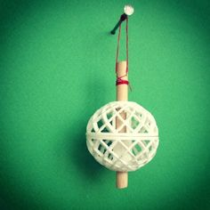 Tree Jewelry II (THE BALL) #3D #3Dprint #3Dprinting [more pics on Cults website]