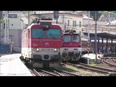 "Vlaky: odchod 350.018 ""Milan"" na EC 279 Danubius + luxusný pozdrav - YouTube Bratislava, Milan, Train, Youtube, Strollers, Trains, Youtube Movies"
