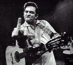 Johnny Cashs Finger