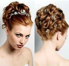 Prom Hairstyles Curly Updos   Classy updo hairstyle Classy updo hairstyle