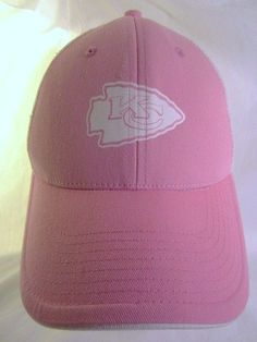 cheap for discount fbf0f e8af5 Kansas City Chiefs Ball Cap Mesh Hat KC Arrowhead Pink NFL Adult Adjustable   NFL