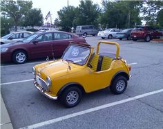 Messy Nessy Chic The Cutest & Tiniest Cars Ever Made