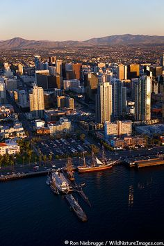 San Diego - a Beautiful City nestled between the mountains and the ocean!