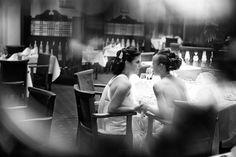 Beautiful photo of Siobhan and Stacey by Agata Lipinska Photography at Lucan Spa Hotel.