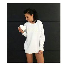Anna Lewandowska Anna, White Dress, High Neck Dress, Lifestyle, Blouse, Long Sleeve, Womens Fashion, Sleeves, Tops
