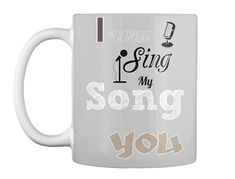 Discover My Song To You T-Shirt from Jay-Jay music - Online store, a custom product made just for you by Teespring. - The design is made to express the words of your. For You Song, Me Me Me Song, Just For You, Need Coffee, Coffee Mugs, Music Online, Singing, Lovers, Songs