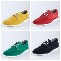 Color shoes for men!