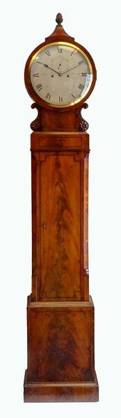 antique clocks mahogany domestic regulator by