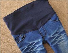 Nuevos pantalones de maternidad elástico de cintura alta Leggings Jeans pant para mujeres embarazadas barato ropa de moda sml XL XXL