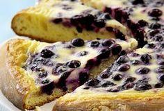 Heidelbeer-Saure Sahne-Kuchen | Du darfst