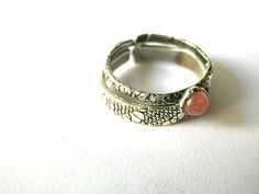 Stacking rings set of twoSterling silverTexture rings3mm by CyKLu, €55.00