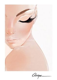 40 Ideas fashion poster illustration artists for 2019 Makeup Artist Tattoo, Makeup Drawing, Tattoo Makeup, Beauty Illustration, Illustration Artists, Illustration Fashion, Lashes Logo, Face Sketch, Sketch Inspiration