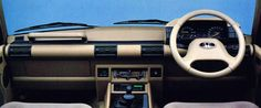 Honda Crossroad (1993). Actually a Land Rover Discovery in Hondaguise.