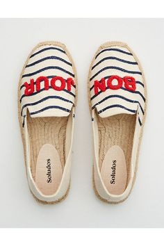 Smoking Slippers, Shoe Box, American Eagle Outfitters, Espadrilles, Smoke, Navy, Accessories, Women, Products
