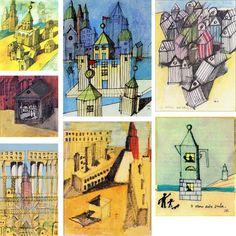 aldo rossi_drawings