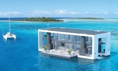 These solar-powered, zero-emission livable yachts are packed with green goodness.
