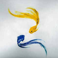 I'd get it as a tattoo...  http://fc09.deviantart.net/fs13/f/2007/103/3/3/Watercolor_fish__by_hyperpro.jpg