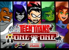Juega con los Jóvenes titanes para eliminar a varios enemigos, podrás seleccionar a uno de ellos para poder jugar.