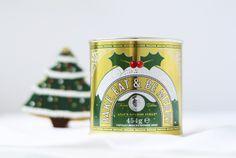 Lyle's Golden Syrup festive tin by Design Bridge