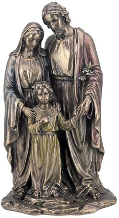 Holy Family Religious Figurine Statue Sculpture Statuary-Home Décor-Decorations-Christian Related Gifts-Available for Sale at AllSculptures.com