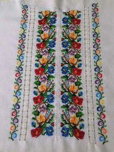 Cross Stitch Art, Cross Stitch Borders, Hobbies And Crafts, Floral Tie, Embroidery, Crochet, Ukraine, Macrame, Handmade