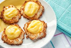 Coconut Macaroons With Lemon Curd | Paleo Leap | Paleo diet Recipes & Tips